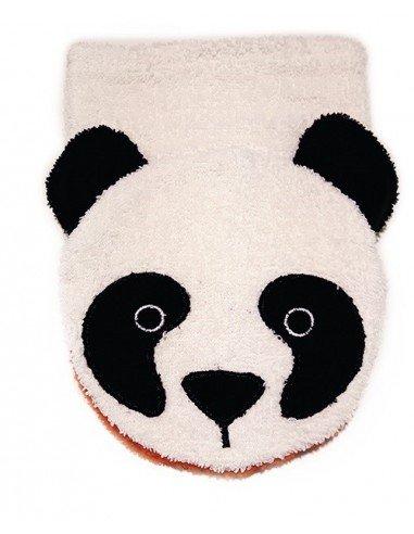 Manopla de algodón orgánico panda...