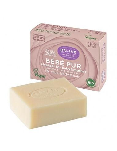 Jabón sólido para bebé BEBÉ PUR