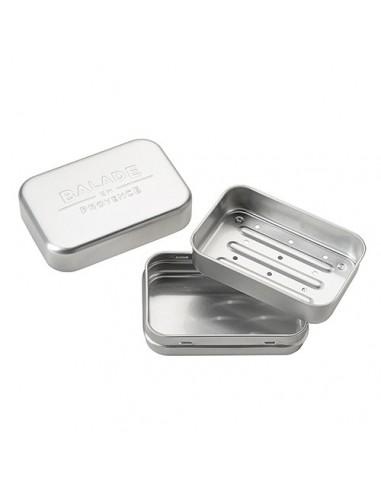 Jabonera de aluminio para sólidos con...