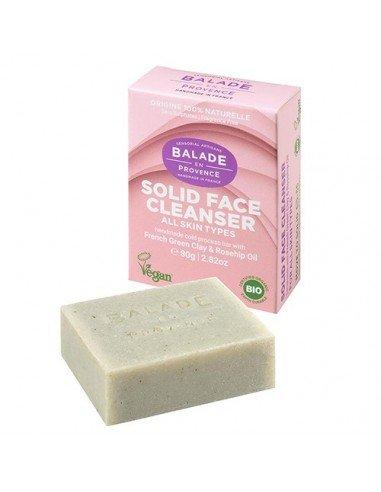 Limpiador facial sólido con arcilla...