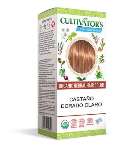 Tinte orgánico Castaño Dorado Claro