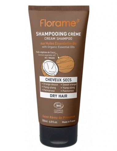 Champú crema para cabello seco
