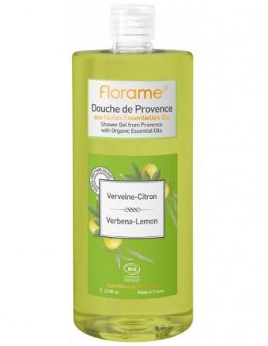Gel de ducha provenzal de verbena-limón