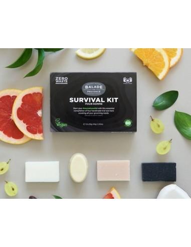 Kit de supervivencia para hombre